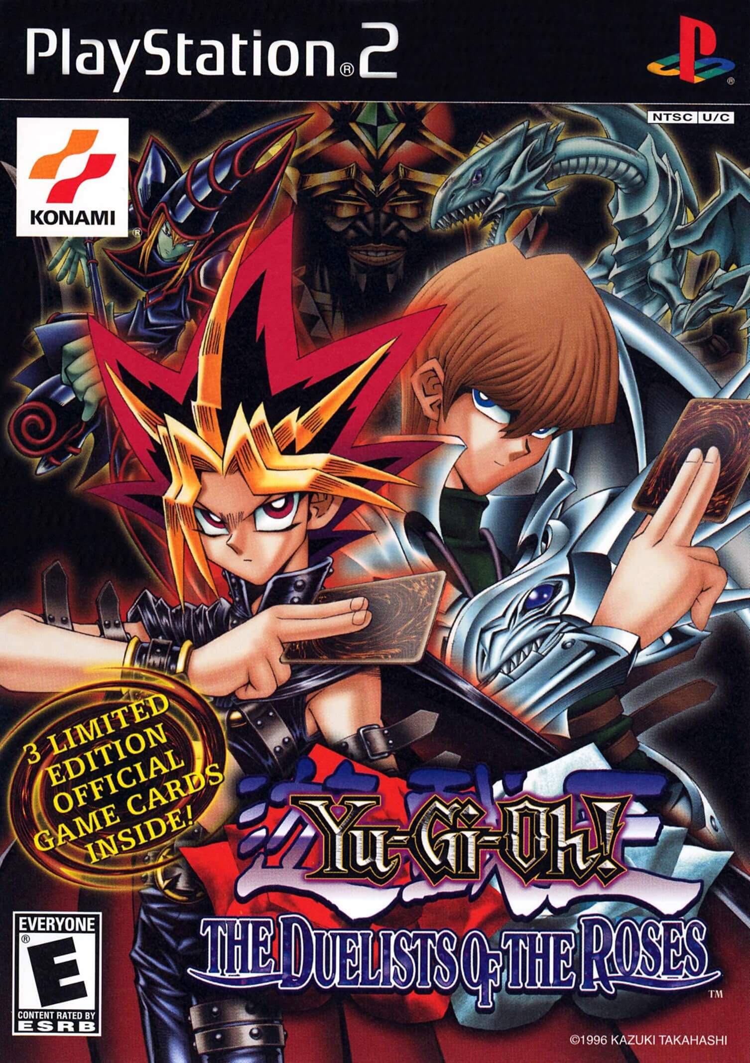 yugioh the duelists of the roses  ps2 rom  iso game