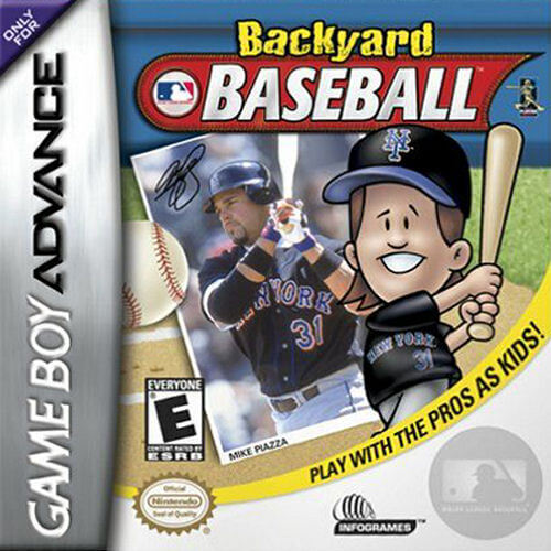 Backyard Baseball - Game Boy Advance (GBA) ROM - Download